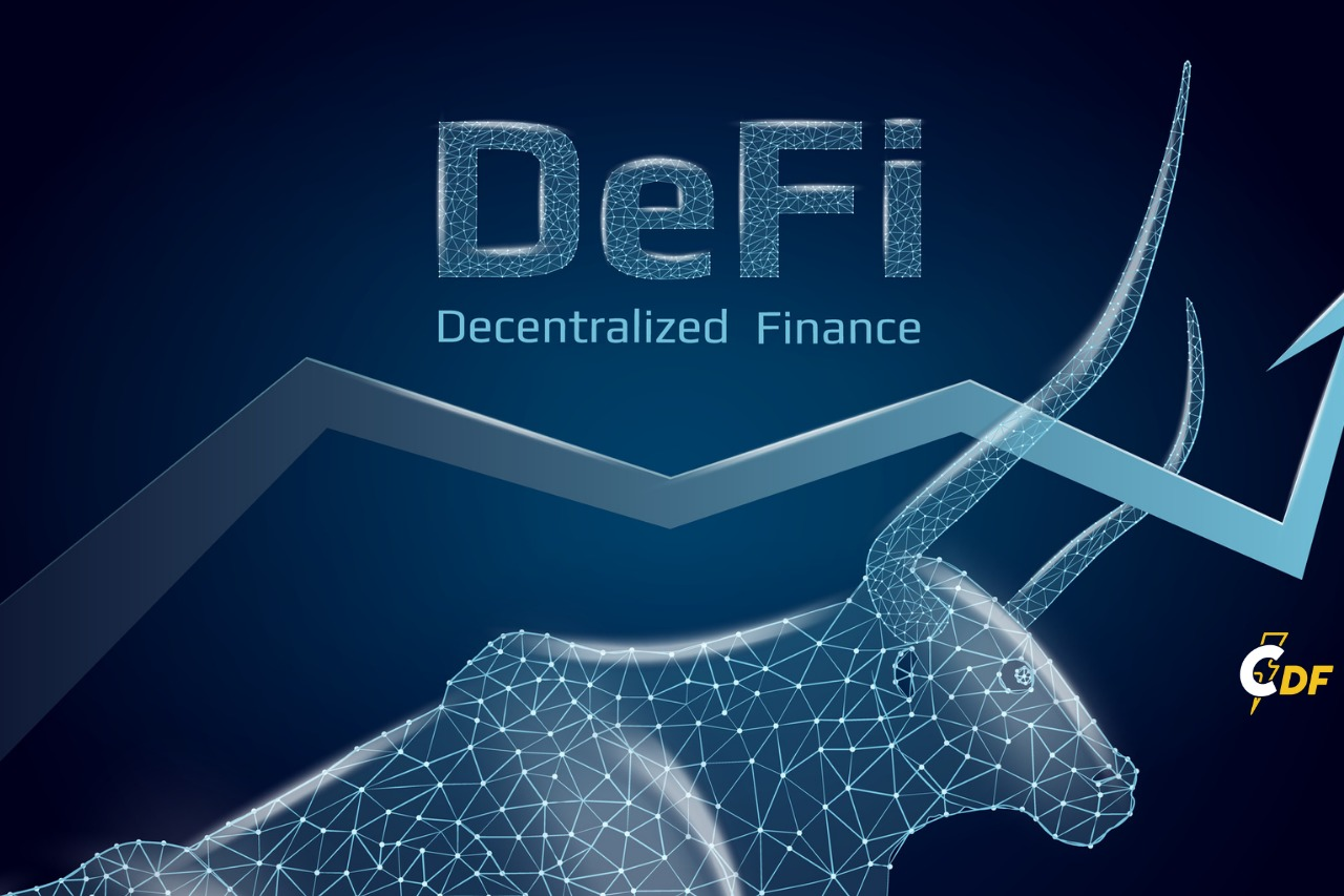 DeFi market cap goes parabolic and can not be stopped.
