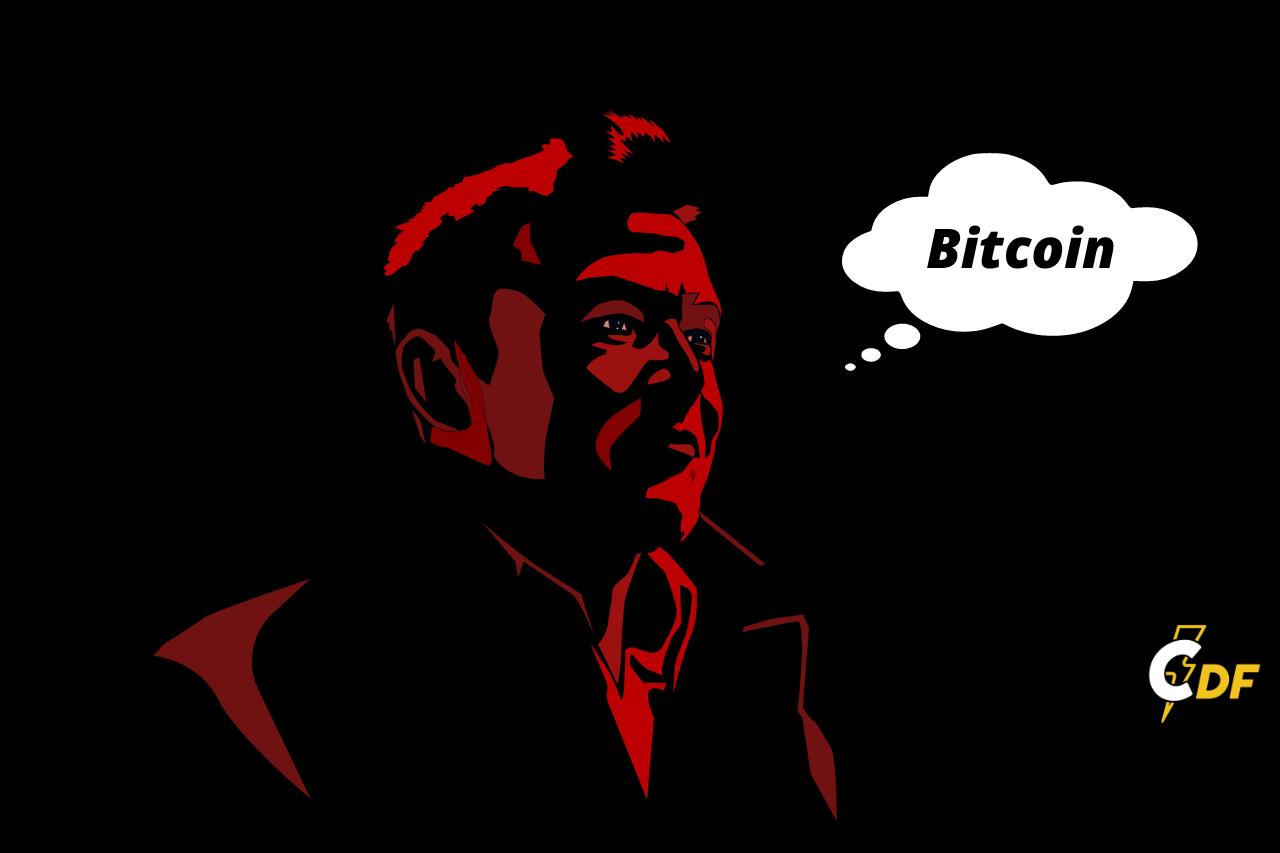 Elon Musk has just changed his Twitter bio to Bitcoin