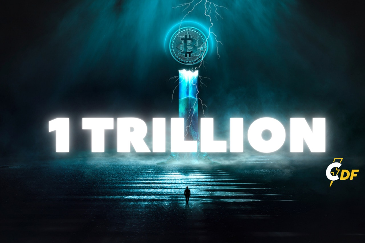 Bitcoin Hits a $1 Trillion Market Cap for First Time Ever
