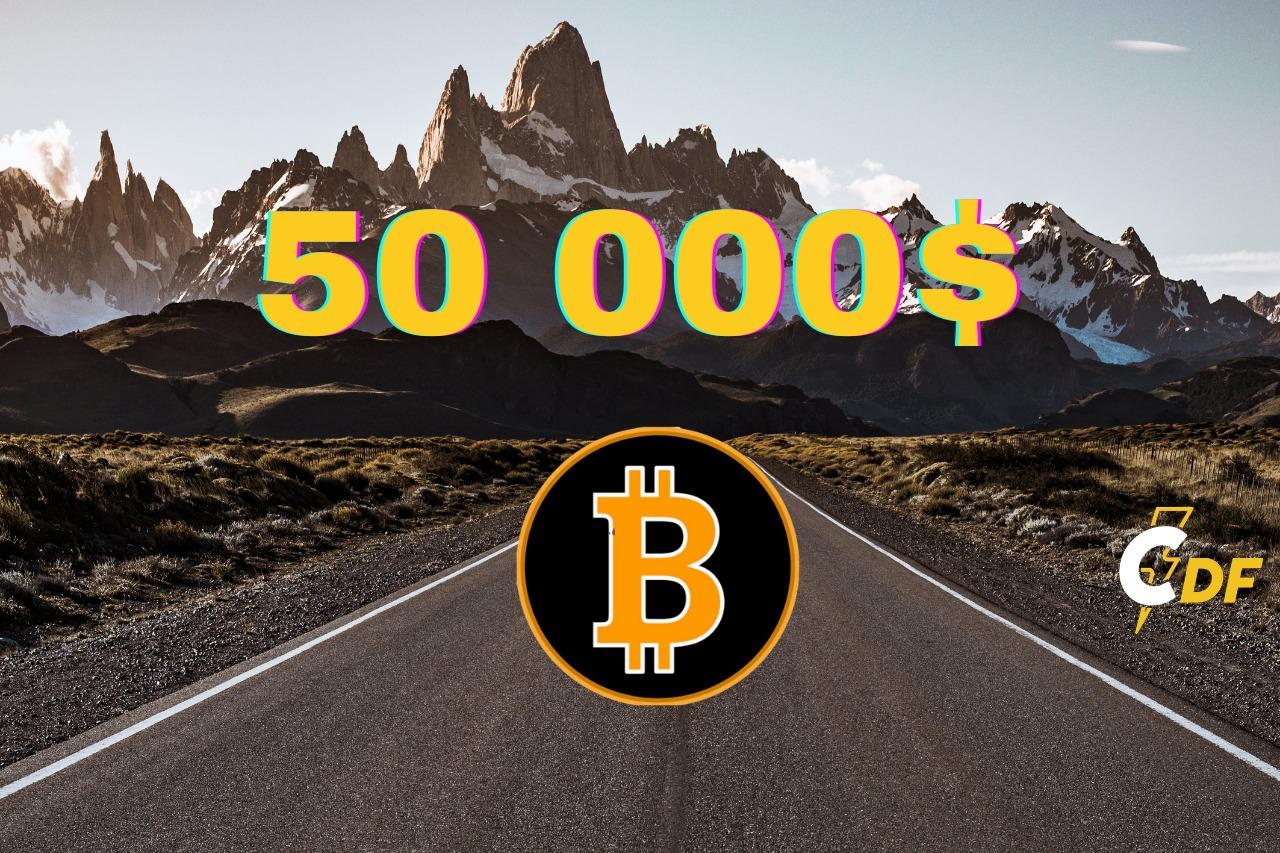 Bitcoin Price Breaks $50,000 Psychological Level