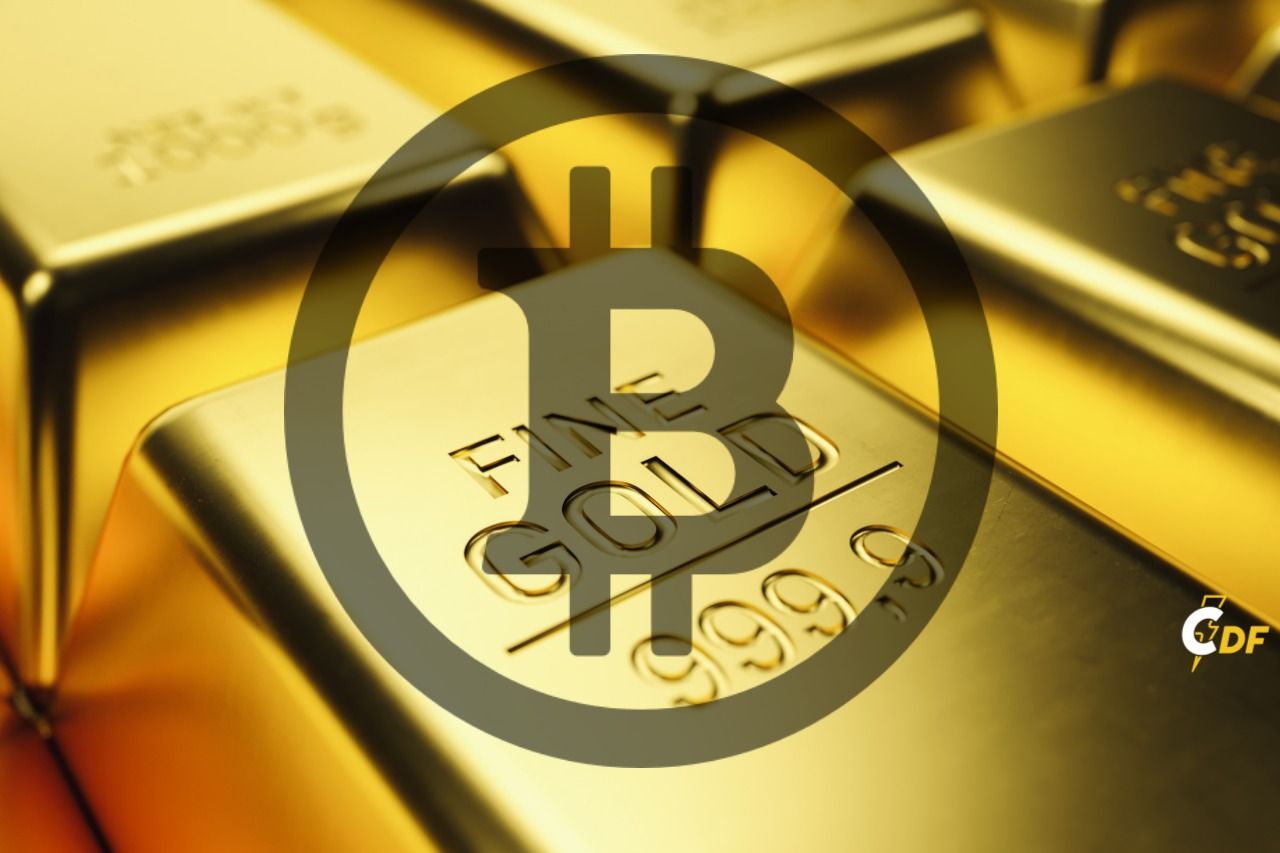 When fiat money goes down, gold and crypto go up