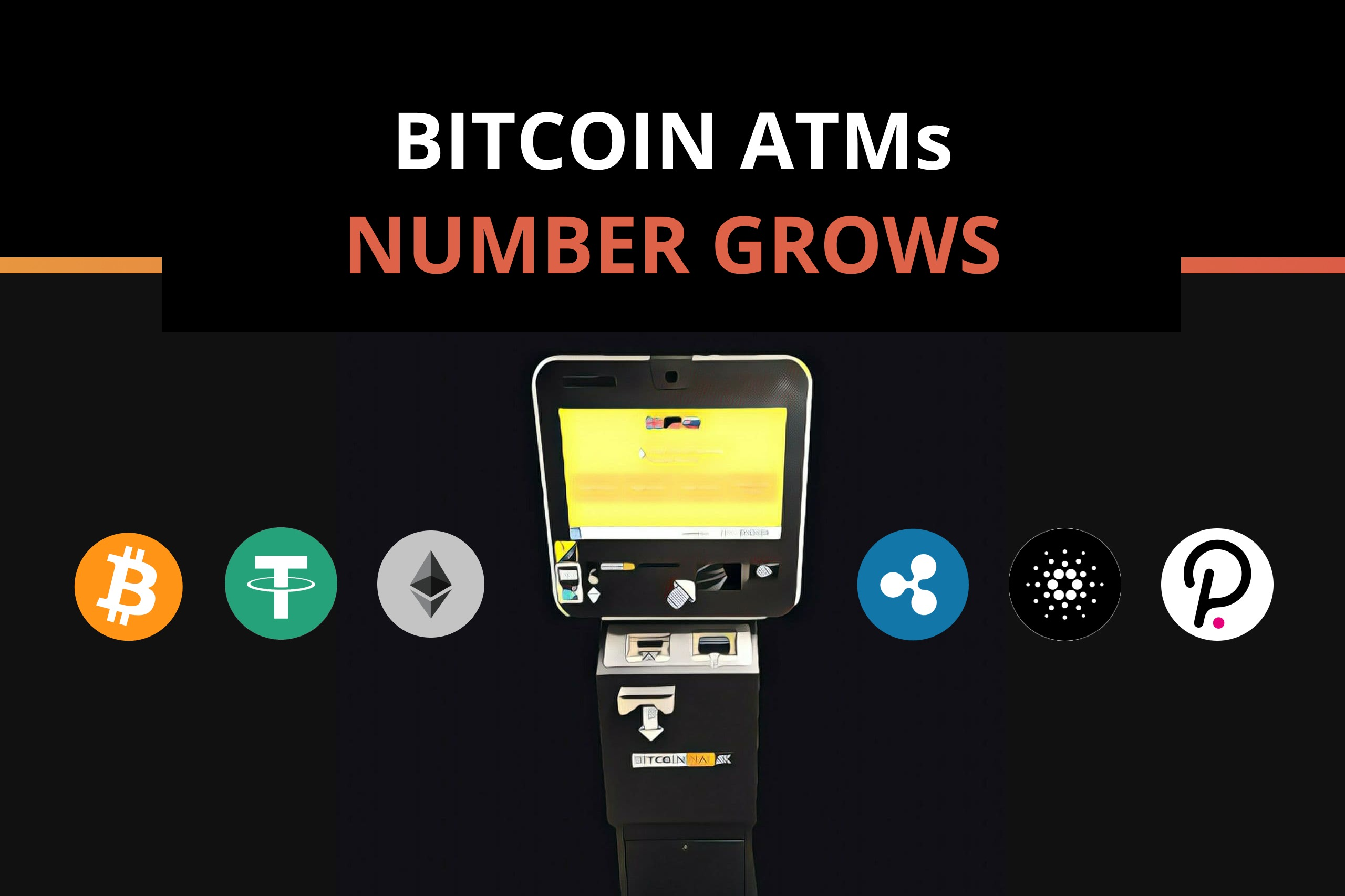 Amassive increase of the Bitcoin ATMs in the US over the past year