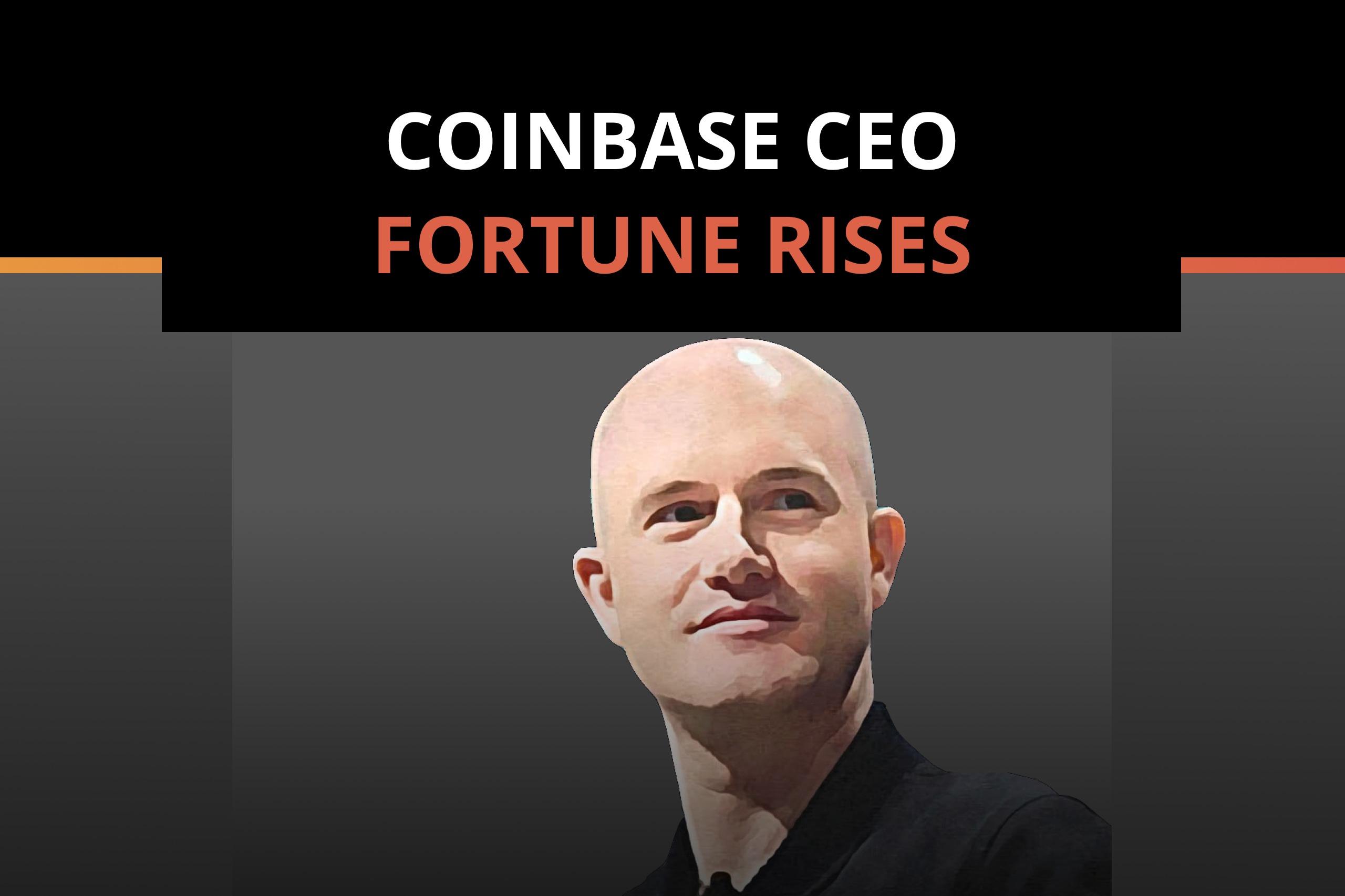 Coinbase CEO Brian Armstrong Tops Blockchain's Rich List
