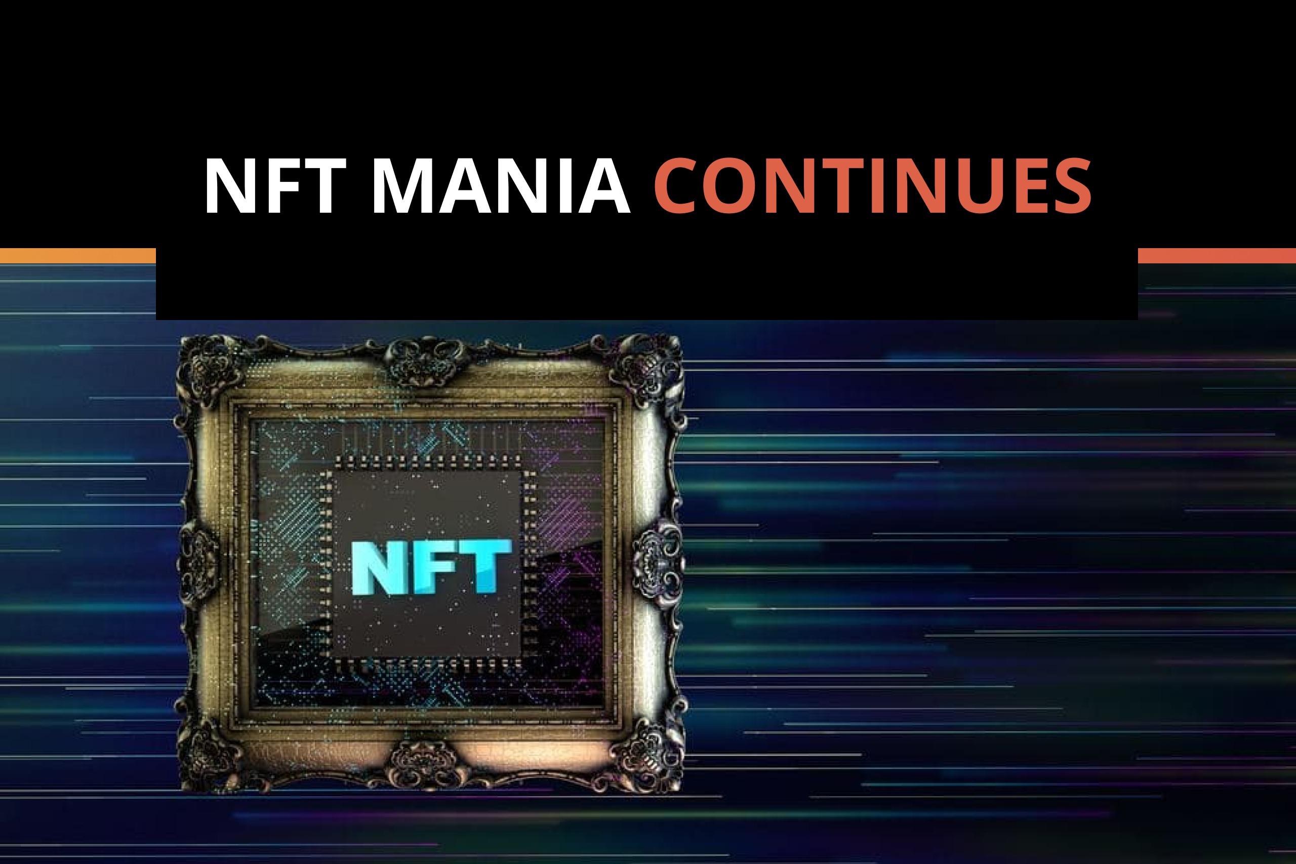 Everybody Is Enjoying NFTs