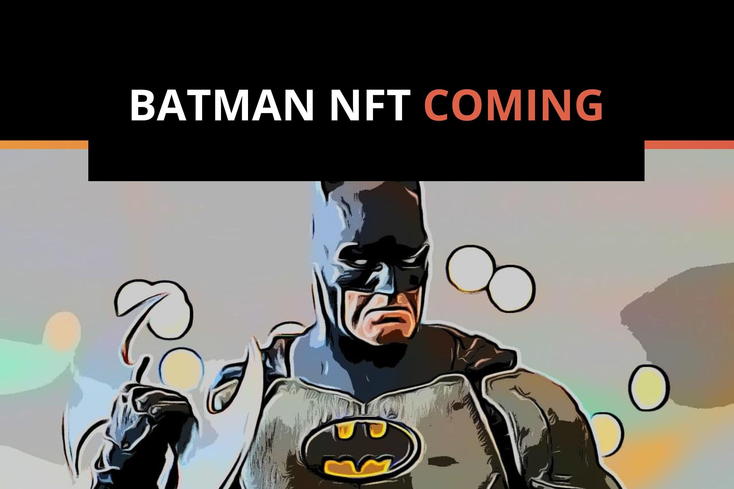 DC Comics Launches Batman NFT Collection