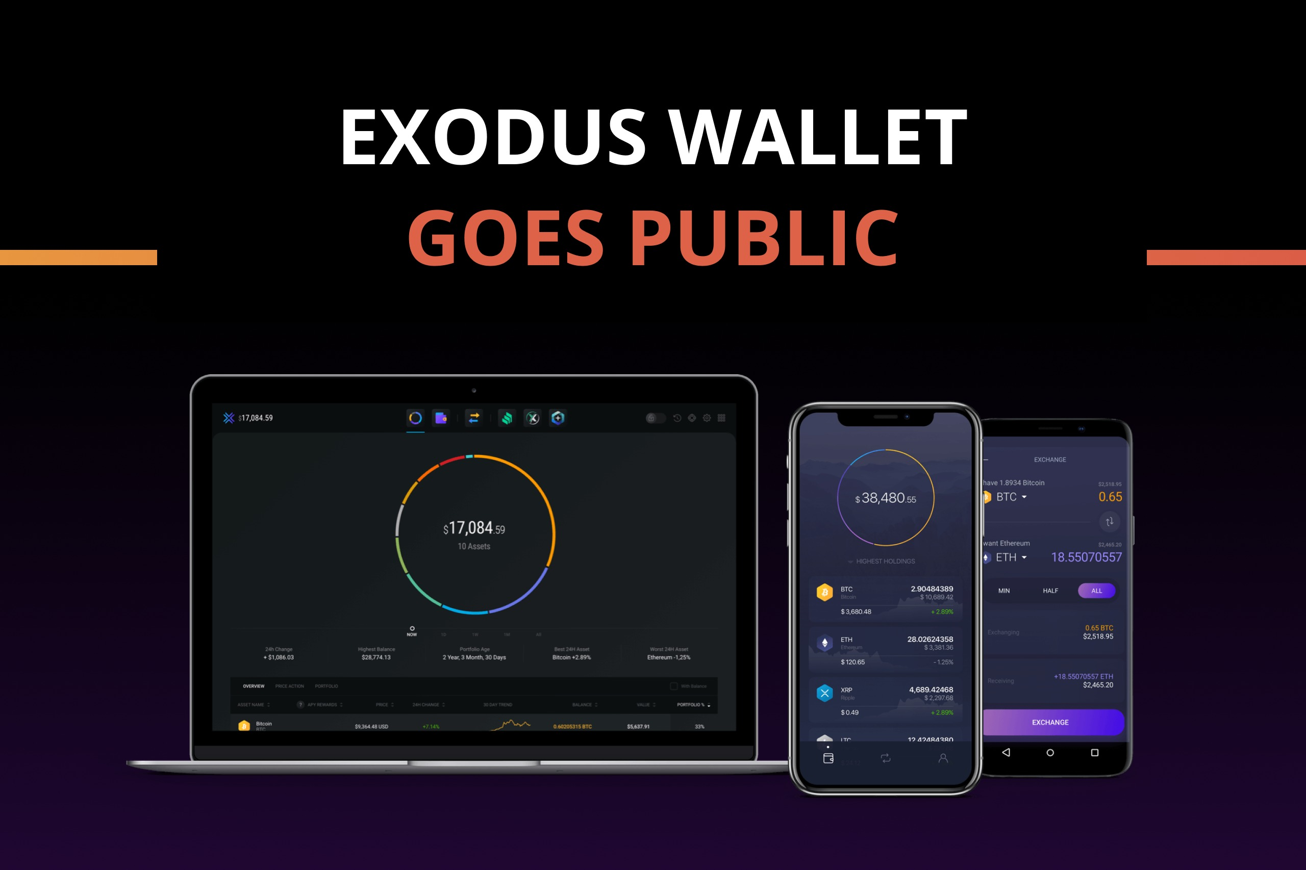Exodus is trying to do an upgraded version of an ICO