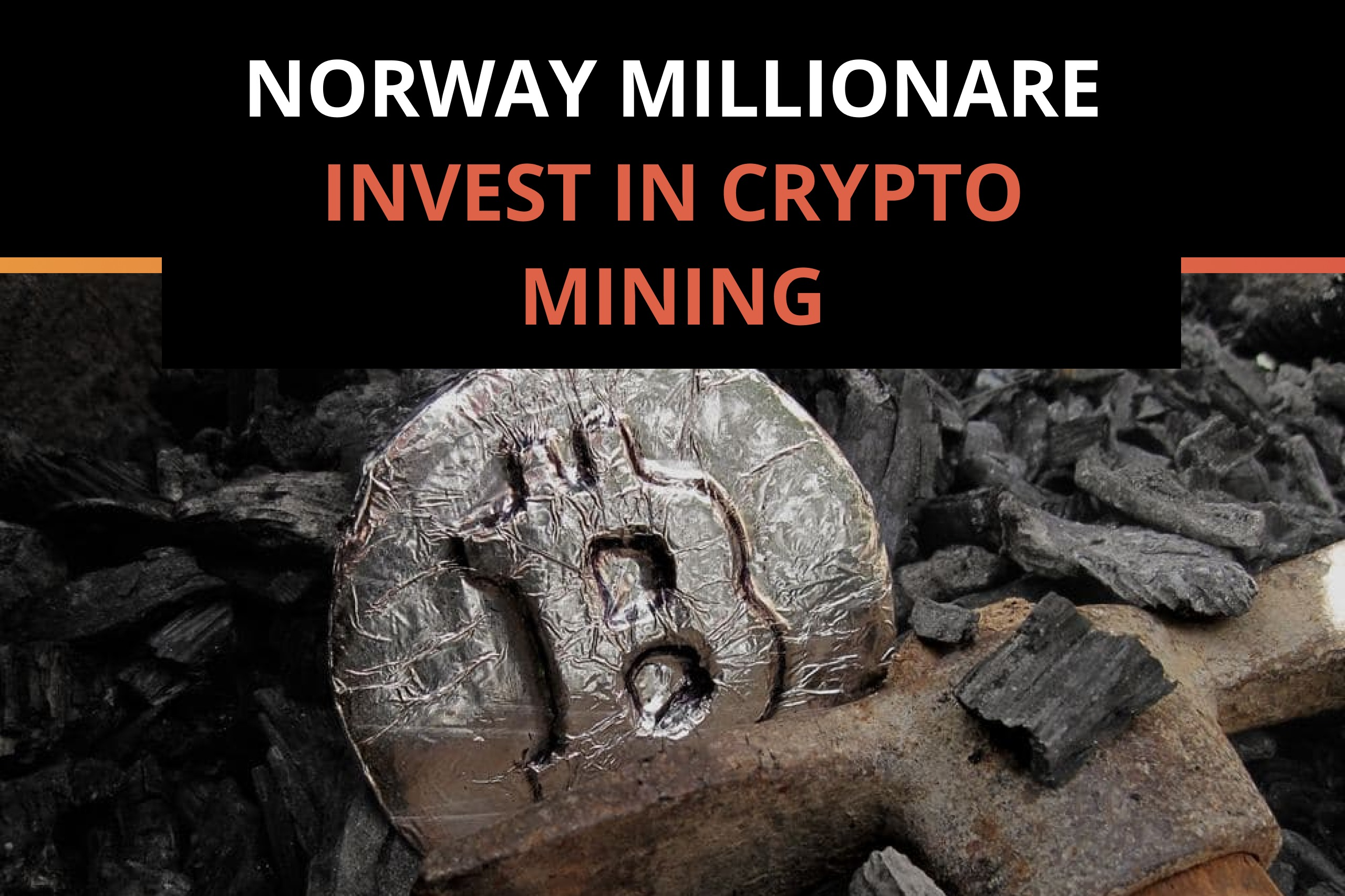Norwegian Hedge Fund Giant dips into the Crypto
