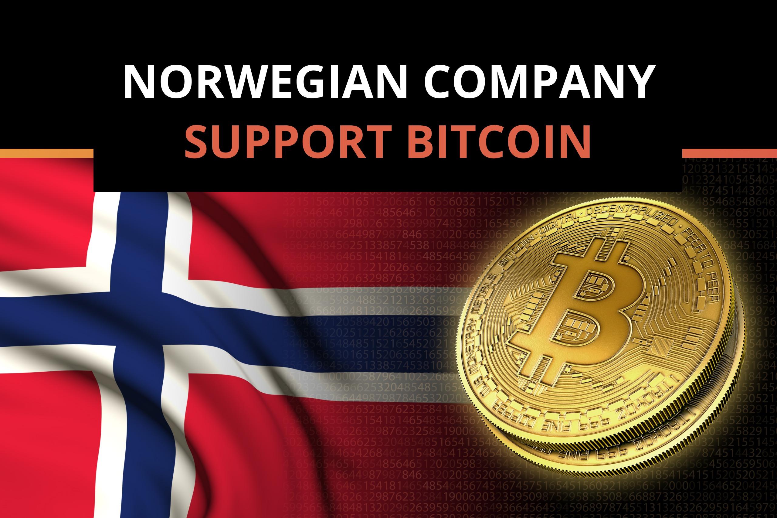 Norwegian Billionaire Supports Bitcoin