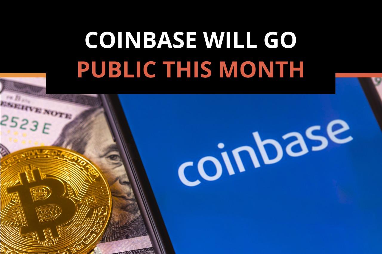 Coinbase Announces it Will Go Public on April