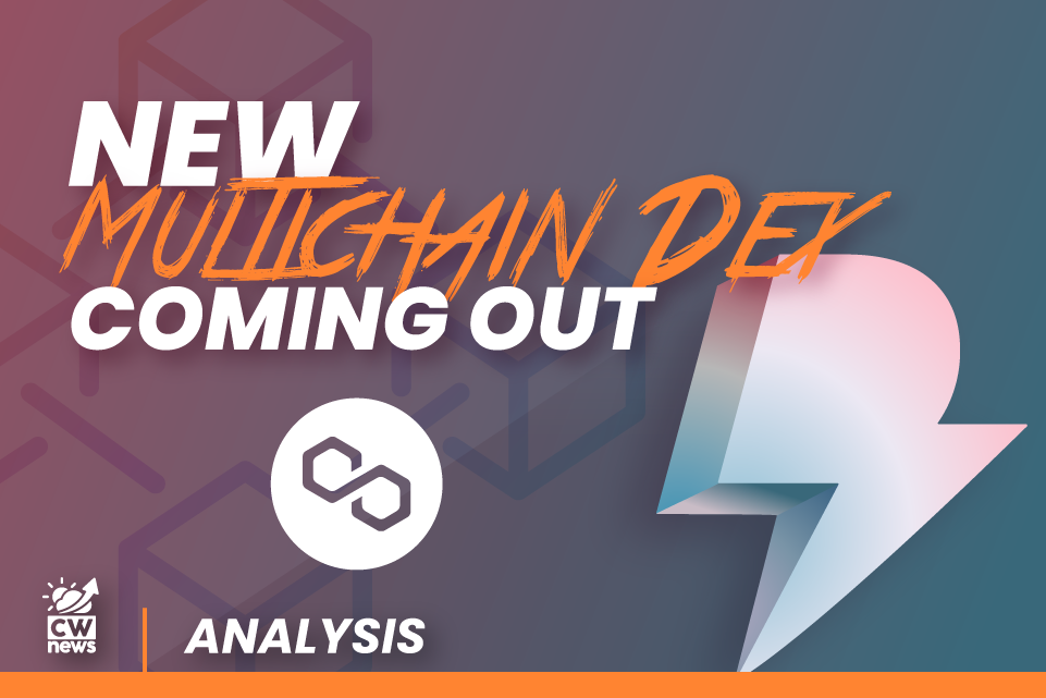 Dfyn as the first multichain decentralized exchange, firstly launched on Polygon Network