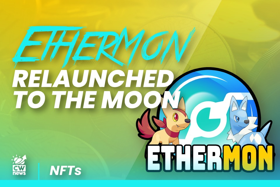 Ethermon is the next NFT cross game-changer with the  token launched on Polygon