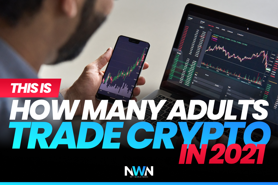This is How Many Adults Trade Crypto in 2021