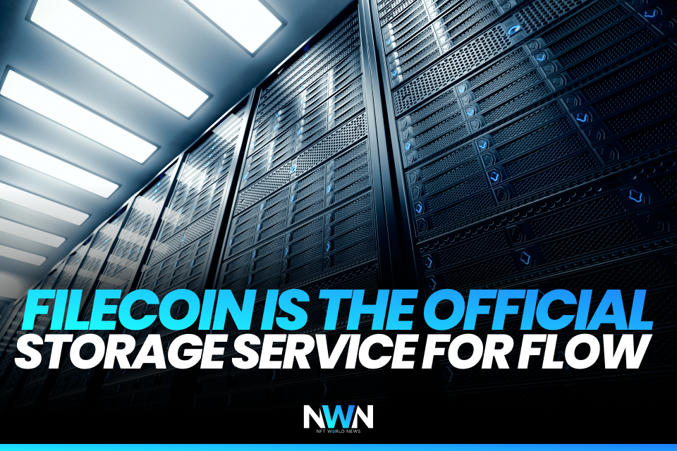 Filecoin is the Official Storage Service for Flow
