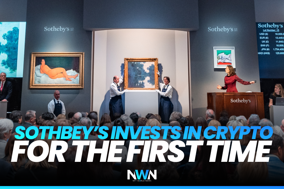 Sotheby's Invests in Crypto For the First Time